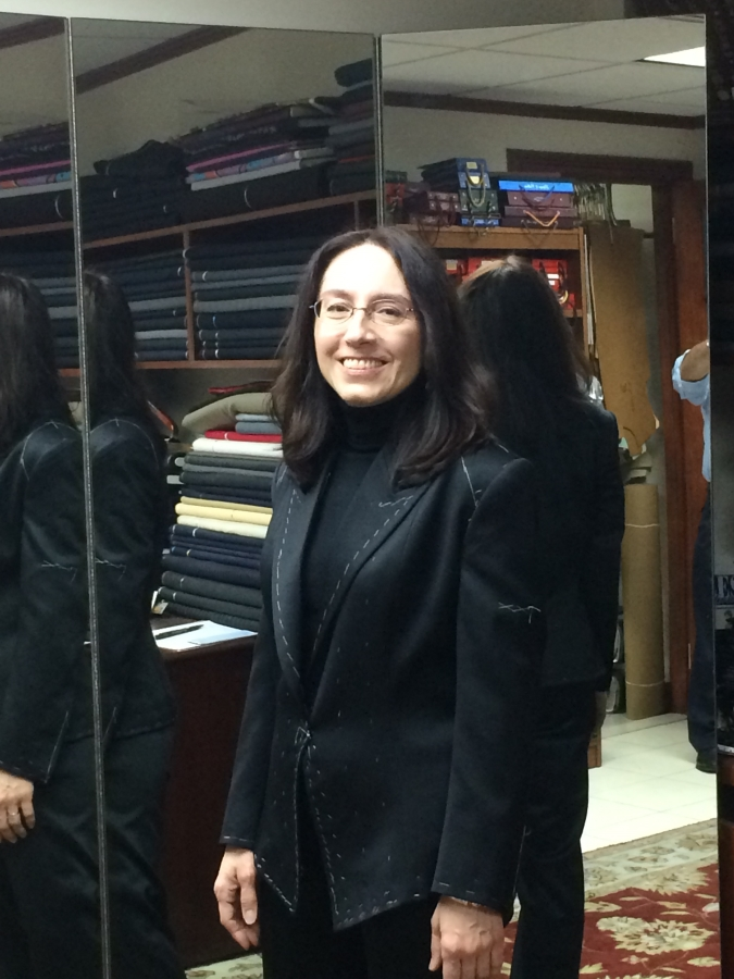 Vicki Vasilopoulos at 2nd fitting