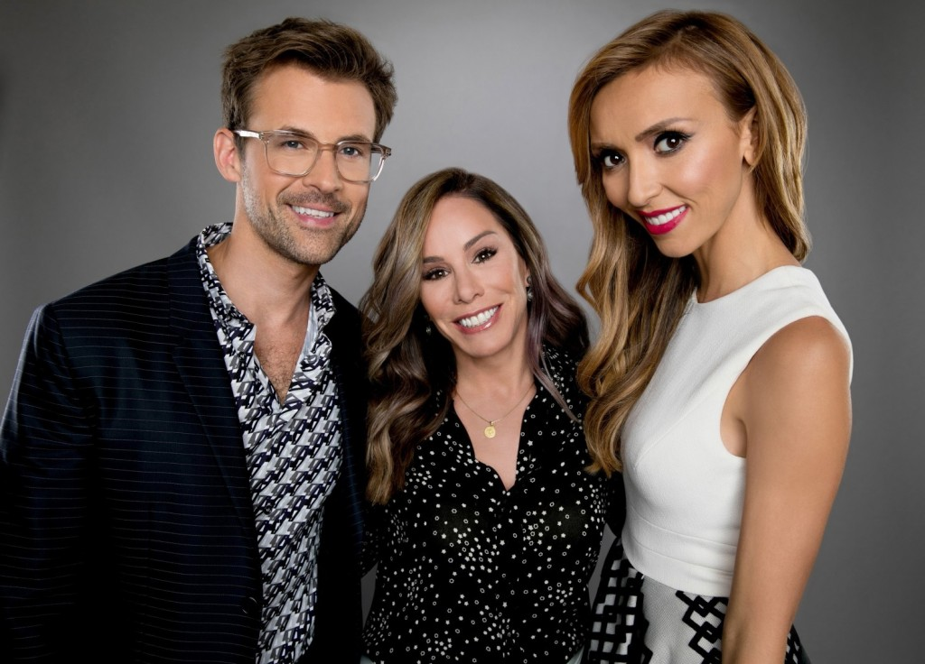 E's Fashion Police continues with Melissa Rivers (with Brad Goreski and Giuliana Rancic)