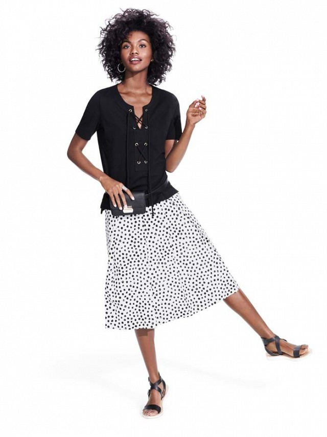 One of the looks from the Who What Wear Target Collaboration, courtesy